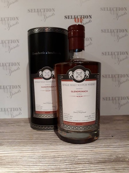Malts of Scotland GLENDRONACH 1994/2018 Sherry Hogshead