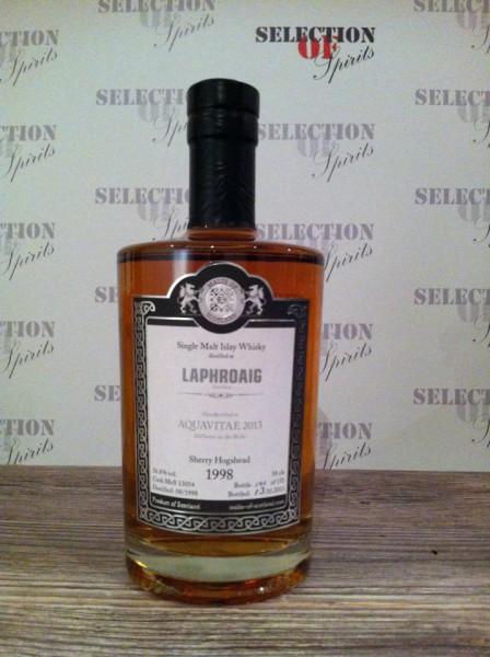 "Malts of Scotland LAPHROAIG Sherry Hogshead ""Aquavitae 2013"""