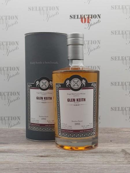 Malts of Scotland GLE KEITH 1993/2013 Bourbon Barrel