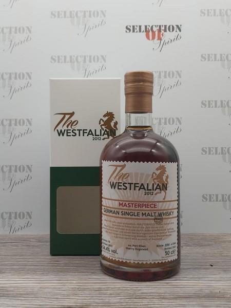 THE WESTFALIAN 2013/2021 Cask76 German Single Malt Whisky MASTERPIECE IV ex.Port Ellen Sherry Hogshe