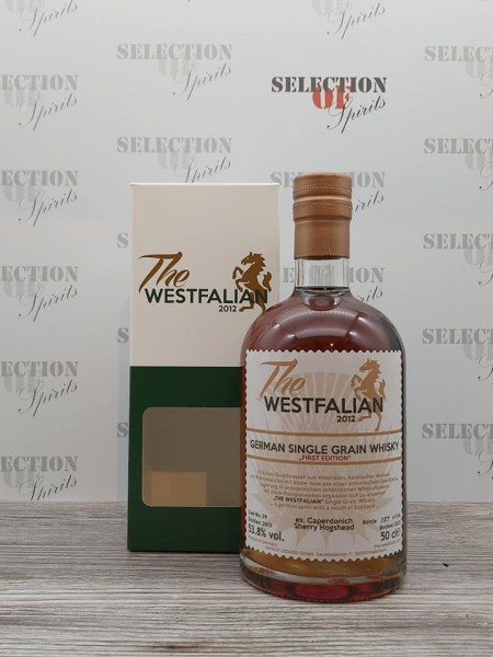 THE WESTFALIAN 2013/2021 Cask 39 German Single GRAIN Whisky ex.Caperdonich