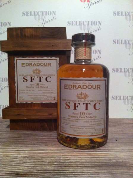 Edradour Straight from the cask 10yo Madeira Cask Matured