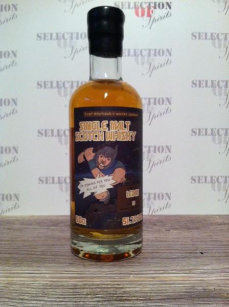 That Boutique-Y Whisky Company LEDAIG 18yo Batch #3 Sherry Butt