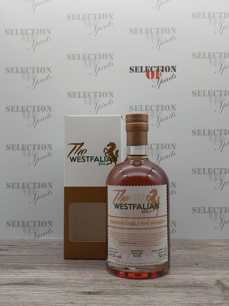 THE WESTFALIAN German Single RYE Whiskey 2016/2021 Amer.New Oak Barrel