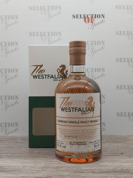 THE WESTFALIAN 2016/2021 Cask122 German Single Malt Whisky ex.Craigellachie Sherry Hogshead