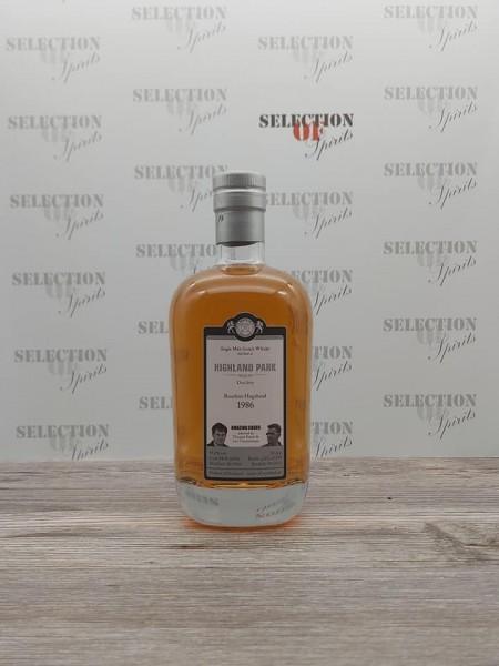"Malts of Scotland HIGHLAND PARK 1986/2012 Bourbon Hogshead ""Amazing Cask"""