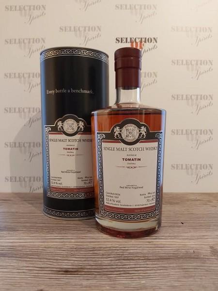 Malts of Scotland TOMATIN 1997/2019 Red Wine Hogshead