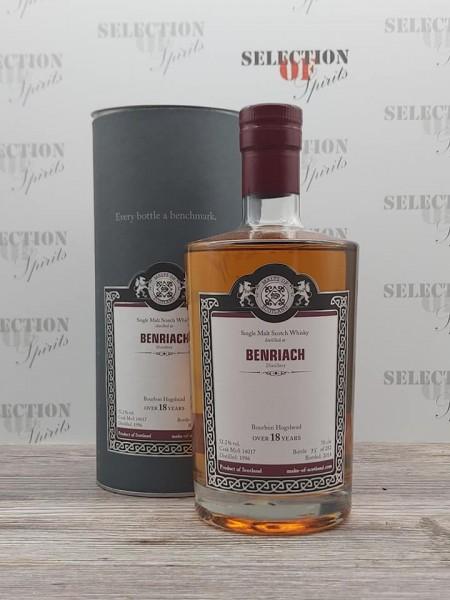 Malts of Scotland BENRIACH 1996/2014 Bourbon Hogshead