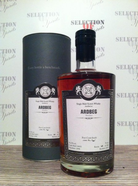 "Malts of Scotland ARDBEG ""Little Miss Piggy"" 1998/2014 Port Cask Finish"