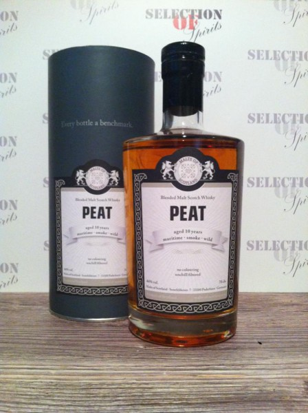 "Malts of Scotland Basic Line ""PEAT"" 10yo"