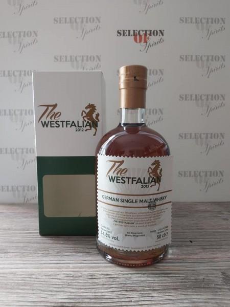 THE WESTFALIAN German Single Malt Whisky 2013/2019 ex.Bowmore Sherry Hogshead -peated-
