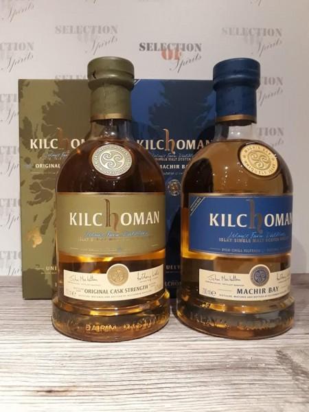 Kilchoman SET Original Cask Strength 2014 & Machir Bay 2014