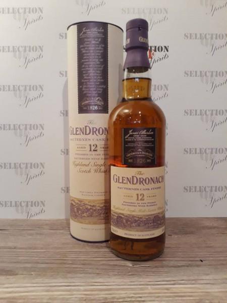 Glendronach Wood Finish 12yo SAUTERNES FINISH