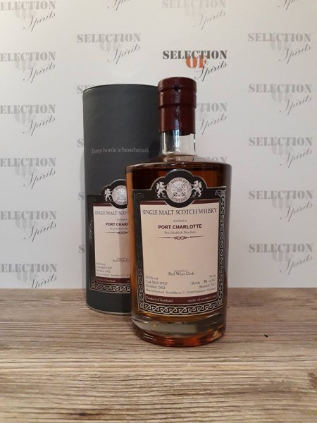 Malts of Scotland PORT CHARLOTTE 2002/2017 Red Wine Cask