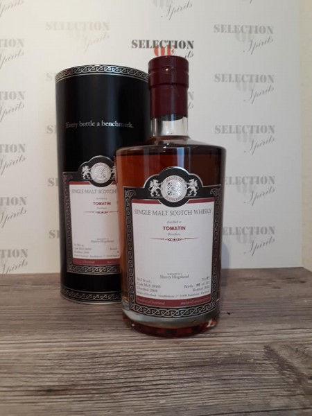 Malts of Scotland TOMATIN 2008/2018 Sherry Hogshead