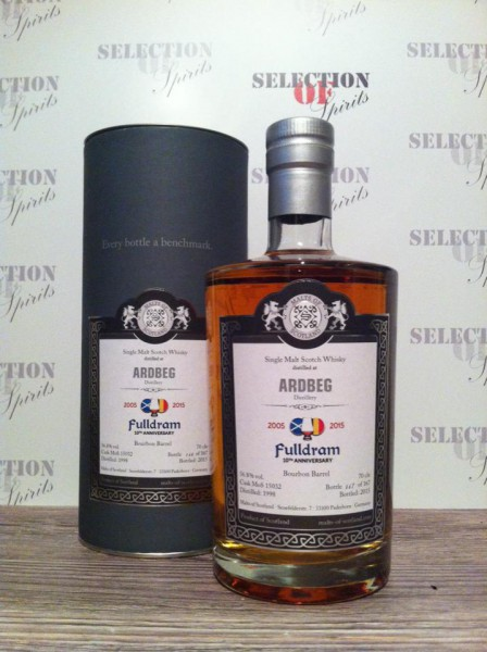 "Malts of Scotland ARDBEG ""Fulldram"" 1998/2015 Bourbon Barrel"