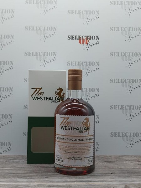 THE WESTFALIAN German Single Malt Whisky 2015/2020 ex.Miltonduff Sherry Hogshead