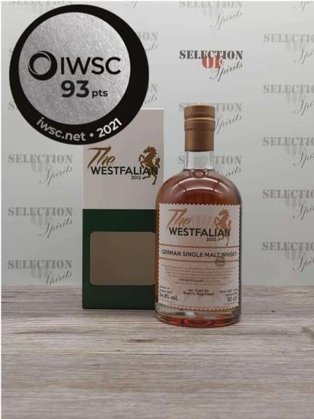 THE WESTFALIAN 2013/2020 Cask 54 German Single Malt ex.Caol Ila Sherry Hogshead -peated-