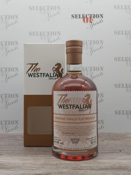 THE WESTFALIAN 2016/2021 Cask127 German Single Rye Whiskey
