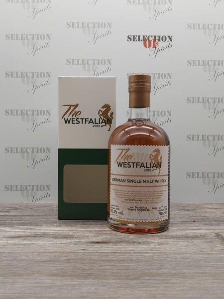 THE WESTFALIAN 2015/2020 Cask 109 German Single Malt ex.Strathisla Sherry Hogshead