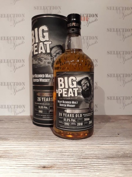 Big Peat 26 Jahre 1992/2018 The Platinum Edition