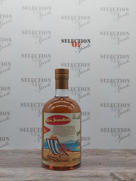 The Westfalian Miss Sunshine Single Corn Whiskey Likör 40% 0,5l