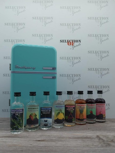 Gin-Kühlschrank That Boutique-y Gin Company 8x0,05L Gin Miniatur