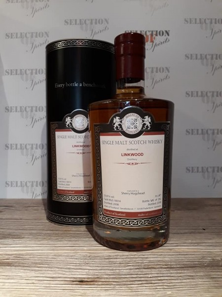Malts of Scotland LINKWOOD 2008/2018 Sherry Hoshead